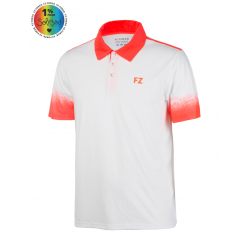 DUBLIN POLO BLANC ORANGE