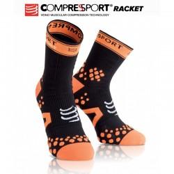 Chaussettes hautes compressport noir
