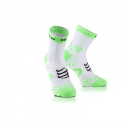 CHAUSSETTES HAUTES COMPRESSPORT BLANCHES