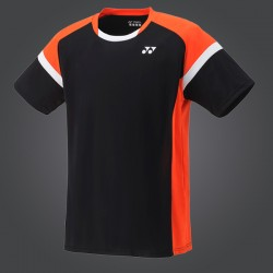 TEE SHIRT YM0001EX MEN BLACK/ORANGE
