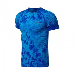 TEE SHIRT AAYN183 CAMOUFLAGE MEN BLUE