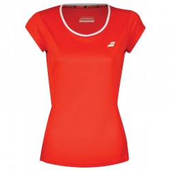 TEE CORE FLAG LADY FIERY RED