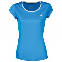 Babolat Core Flag Club Tee Women blue 2018