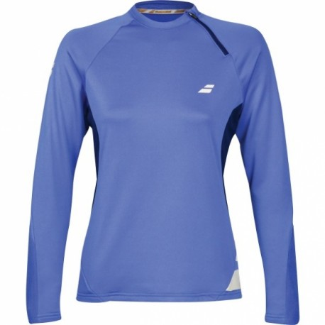 BABOLAT PERF SWEAT SHIRT WOMEN BLEU
