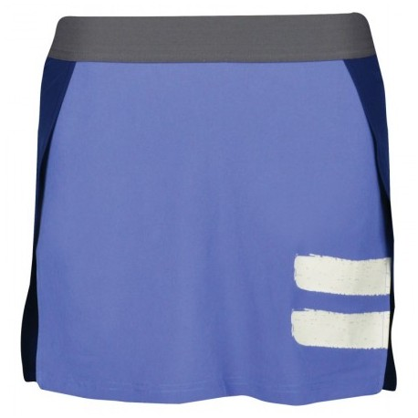 PERF PANEL SKIRT BLEU