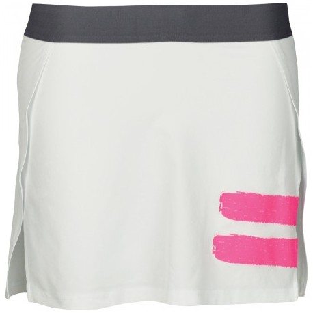 SKIRT PERF PANEL LADY 2018 WHITE