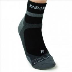 Chaussettes ankle Karakal noir