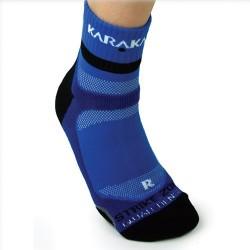 Chaussettes ankle Karakal bleu