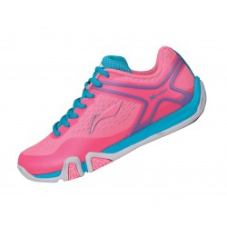 FLASH X TRAINING LADY FLUORESCENT PINK DOLPHIN BLUE