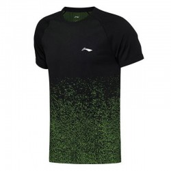 TEE SHIRT AAYN181 INTERGRATED WEAVE MEN BLACK