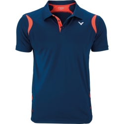POLO FUNCTION MEN CORAL/BLUE