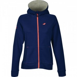 SWEAT CORE HOOD LADY BLUE