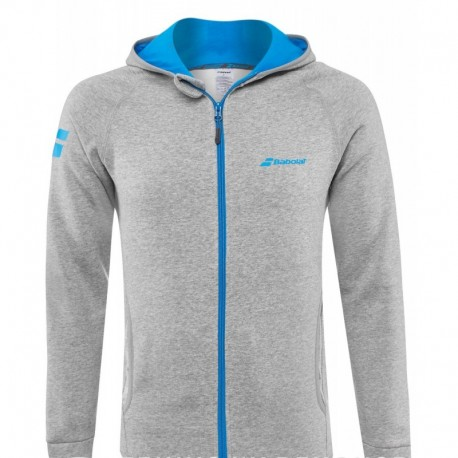 SWEAT CORE HOOD MEN GREY