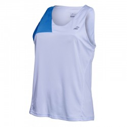 PERF TANK TOP WOMEN BLANC BLEU