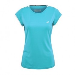 TEE PERF CAP SLEEVE TOP LADY 2019 BLUE