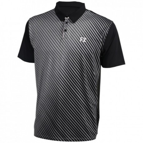 HAMPUS STRETCH POLO NOIR