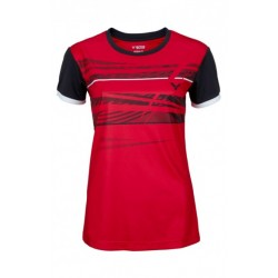 VICTOR T-SHIRT FUNCTION FEMME RED