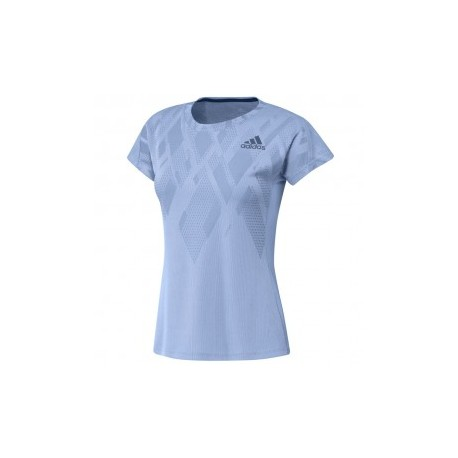 TEE COLOR BLOCK LADY BLUE