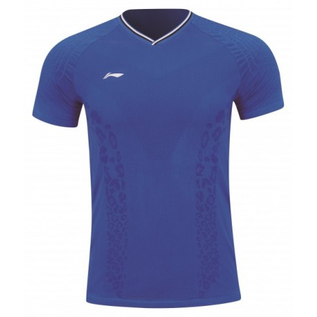 LI-NING SHIRT WCH LIGHT DARK BLEU HOMME
