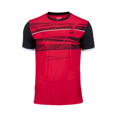 T-SHIRT VICTOR FUNCTION RED HOMME