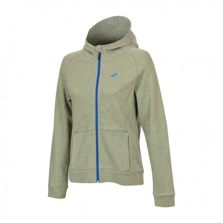 CORE HOOD SWEAT WOMEN GRIS
