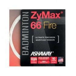 ASHAWAY ZyMax 66 FIRE POWER GARNITURE BLANC