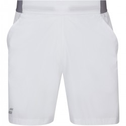 BABOLAT SHORT COMPETE 7 BLANC HOMME