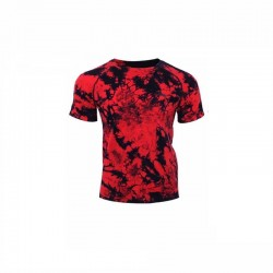 TEE SHIRT AAYN183 CAMOUFLAGE MEN RED