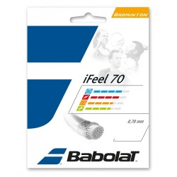 iFEEL 70 BABOLAT WHITE (GARNITURE 10 M)