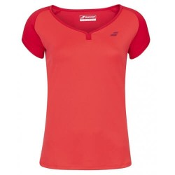 TEE PLAY CREW NECK LADY RED