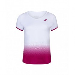 TEE COMPETE CAP SLEEVE TOP LADY WHITE