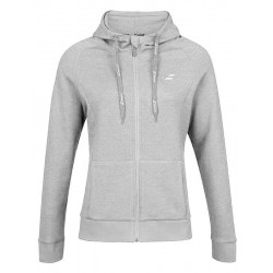SWEAT EXERCISE HOOD JACKET LADY GREY