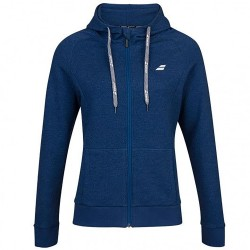 SWEAT EXERCISE HOOD JACKET LADY BLUE ESTATE