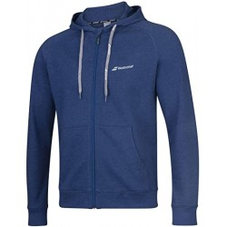 SWEAT EXERCISE HOOD JACKET MEN BLUE ESTATE