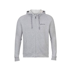 SWEAT EXERCISE HOOD JACKET MEN GREY