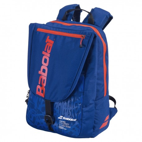 BACKPACK TOURNAMENT BAG BLUE/RED
