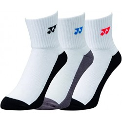 SOCK LONG 19131 UNISEX X3 WHITE