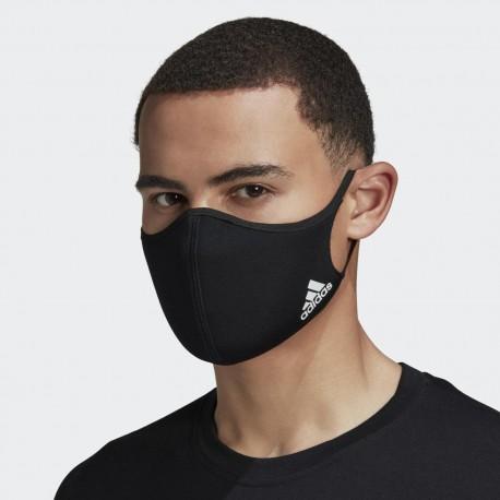 MASQUE ADIDAS MEN PACK DE 3 BLACK