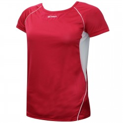 TEE SHIRT PERFORMANCE LADY RED